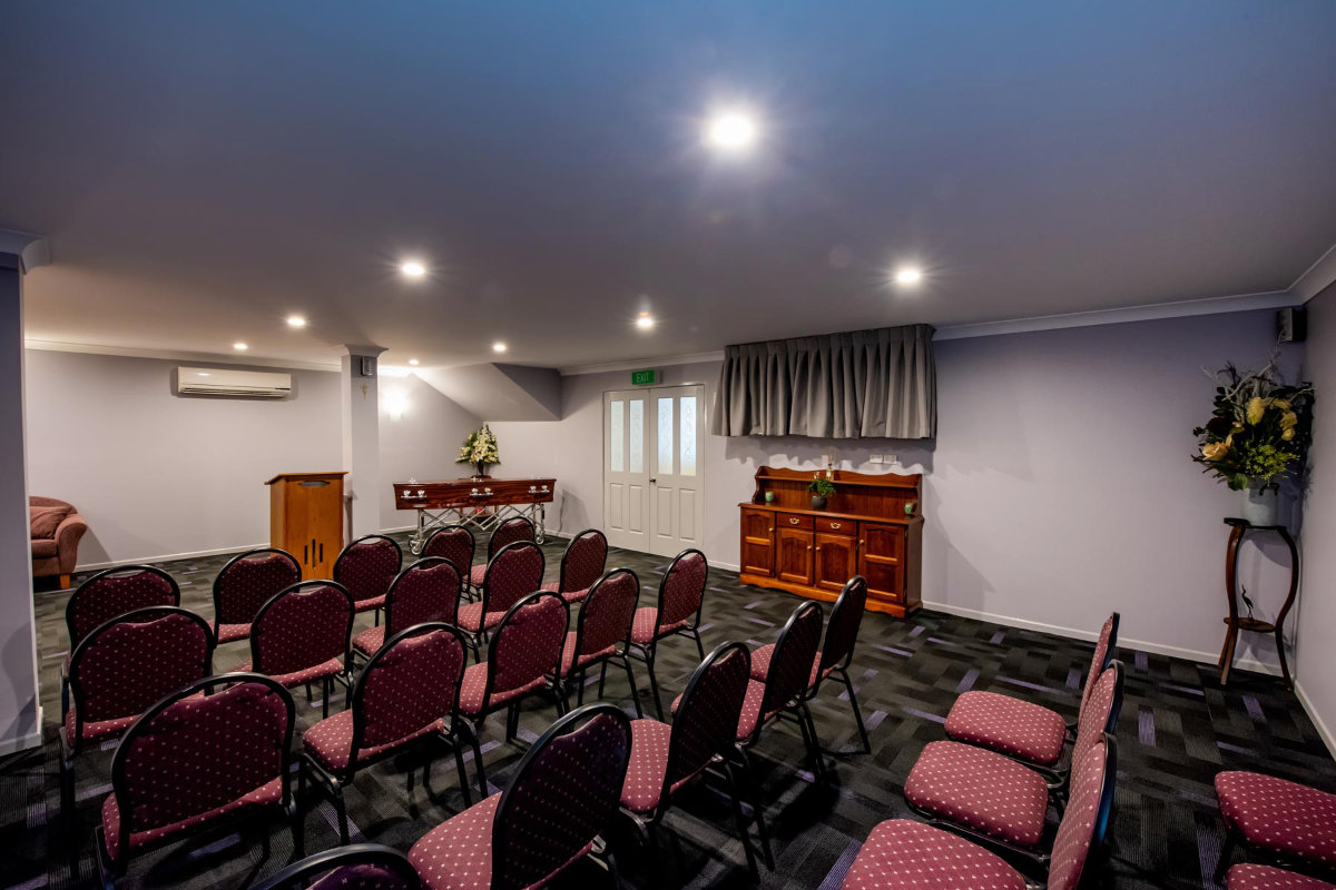 Proserpine Funeral Home Facilities
